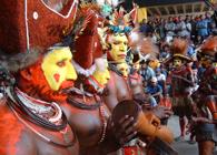 Huli Dancers - Port Moresby 2002